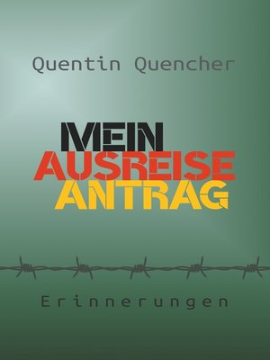 cover image of Mein Ausreiseantrag