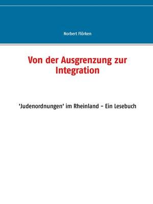 cover image of Von der Ausgrenzung zur Integration