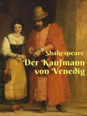 cover image of Der Kaufmann von Venedig