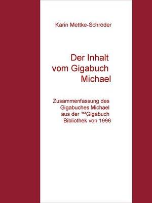 cover image of Der Inhalt vom Gigabuch Michael