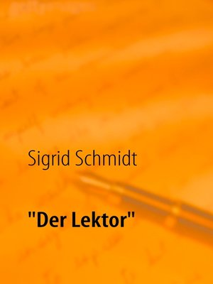 "cover image of ""Der Lektor"""