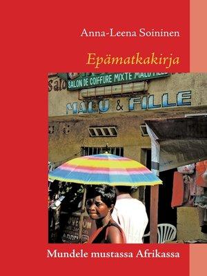 cover image of Epämatkakirja