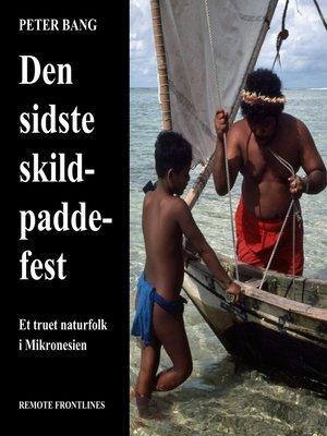 cover image of Den sidste skildpaddefest