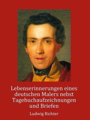 cover image of Lebenserinnerungen eines deutschen Malers