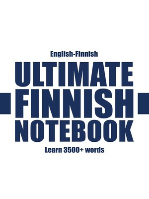 cover image of Ultimate Finnish Notebook