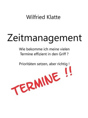 cover image of Zeitmanagement
