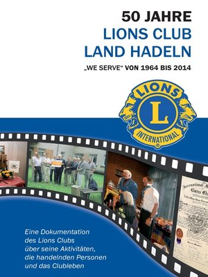 cover image of 50 Jahre Lions Club Land Hadeln
