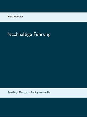 cover image of Nachhaltige Führung