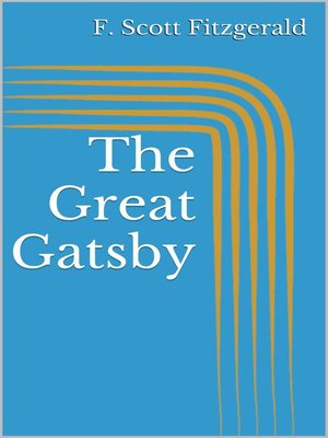 cover image of The Great Gatsby