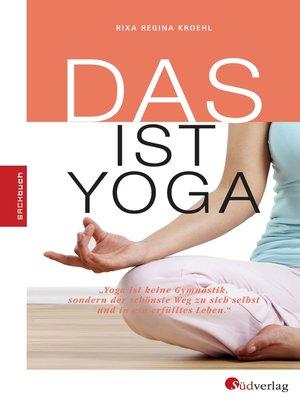 cover image of DAS ist Yoga