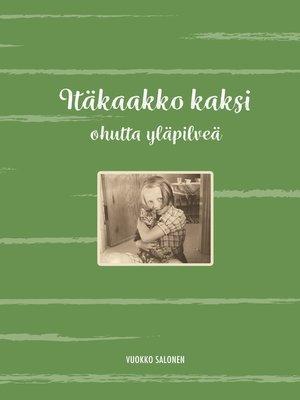 cover image of Itäkaakko kaksi