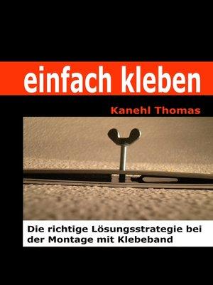cover image of einfach kleben