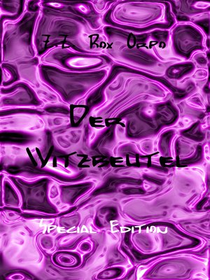 cover image of Der Witzbeutel Special Edition
