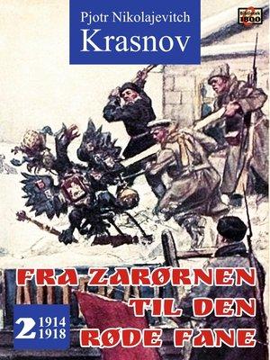 cover image of Fra zarørnen til den røde fane 2