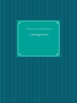 cover image of Liebesgedichte