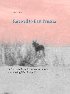 cover image of Farewell to East Prussia