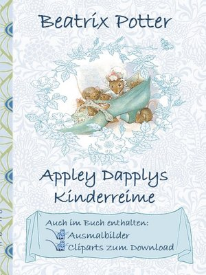 cover image of Appley Dapplys Kinderreime (inklusive Ausmalbilder und Cliparts zum Download)