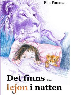 cover image of Det finns inga lejon i natten