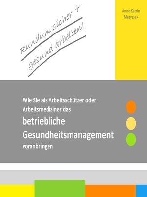 cover image of Rundum sicher + gesund arbeiten!