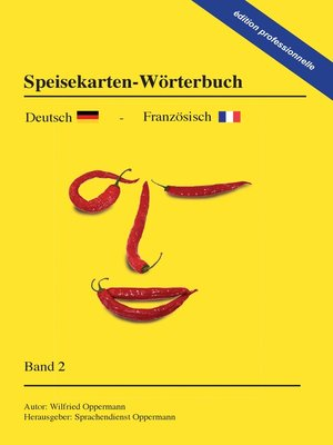 cover image of Speisekarten-Wörterbuch--édition professionnelle