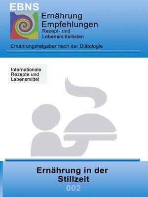 cover image of Ernährung--Stillzeit
