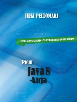 cover image of Pieni Java 8 -kirja