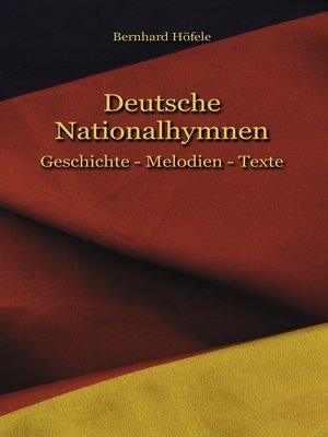 cover image of Deutsche Nationalhymnen