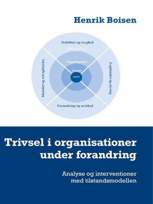cover image of Trivsel i organisationer under forandring
