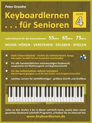 cover image of Keyboardlernen für Senioren (Stufe 4)