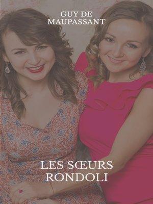 cover image of Les soeurs Rondoli