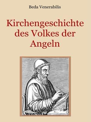 cover image of Kirchengeschichte des Volkes der Angeln