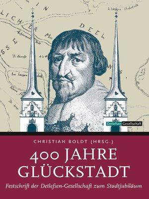 cover image of 400 Jahre Glückstadt
