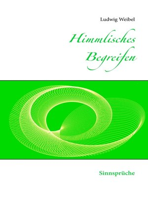cover image of Himmlisches Begreifen