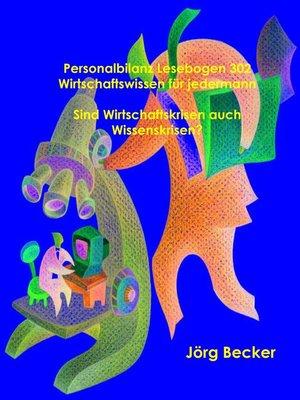 cover image of Personalbilanz Lesebogen 302 Wirtschaftswissen für jedermann