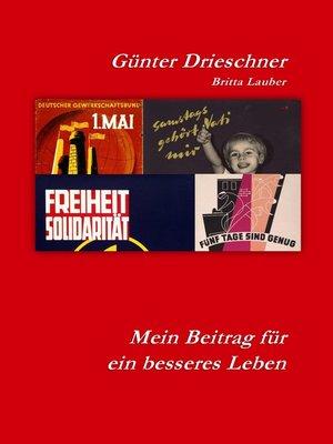 cover image of Mein Beitrag für ein besseres Leben