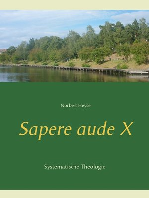 cover image of Sapere aude  X