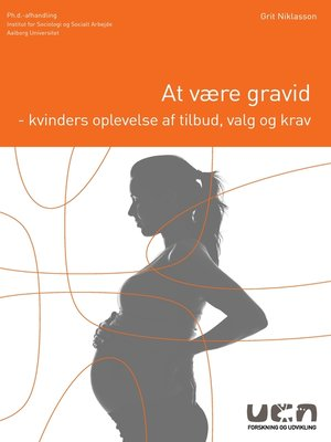 cover image of At være gravid