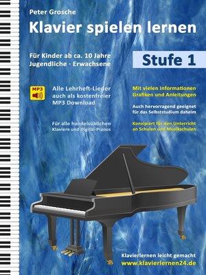 cover image of Klavier spielen lernen (Stufe 1)