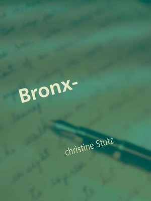 cover image of Bronx-Prinzessin