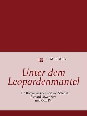 cover image of Unter dem Leopardenmantel