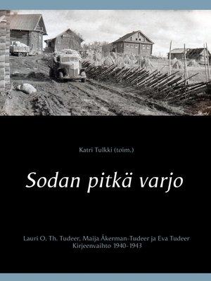 cover image of Sodan pitkä varjo
