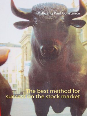 cover image of The best method for success on the stock market