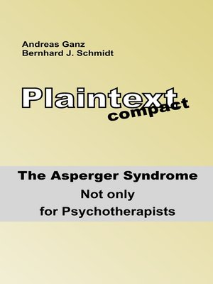 cover image of Plaintext compact. the Asperger Syndrome