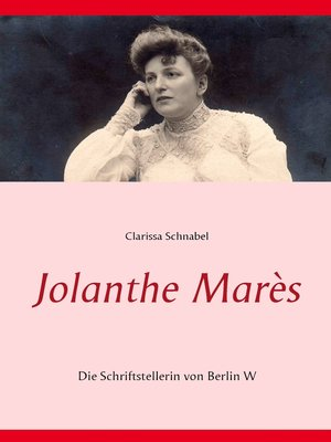 cover image of Jolanthe Marès