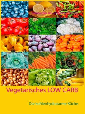 cover image of Vegetarisches Low Carb