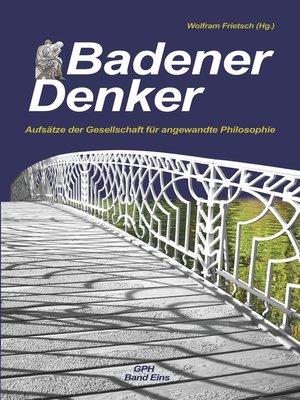 cover image of Aufsätze der Gesellschaft für angewandte Philosophie