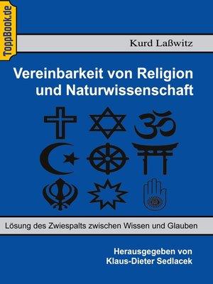 cover image of Vereinbarkeit von Religion und Naturwissenschaft