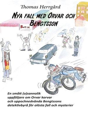 cover image of Nya fall med Orvar och Bengtsson