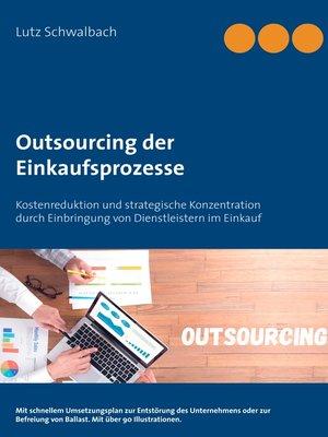 cover image of Outsourcing der Einkaufsprozesse