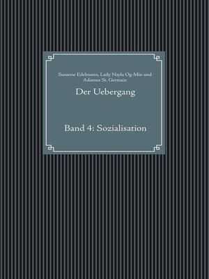 cover image of Band 4: Sozialisation